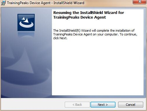 Timex Training Peaks Device Agent Install