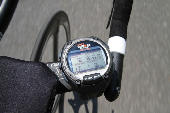 Timex Global Trainer Bike Mode