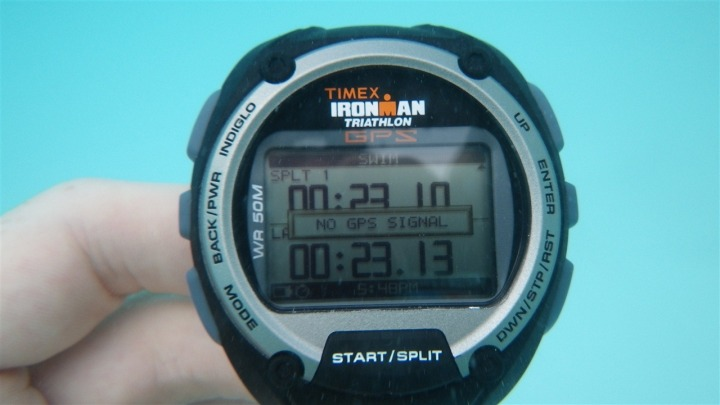 Timex Global Trainer underwater