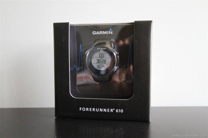 Garmin Forerunner 610 Box