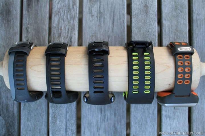 Nike+ GPS Sportwatch Size Comparisons to Garmins