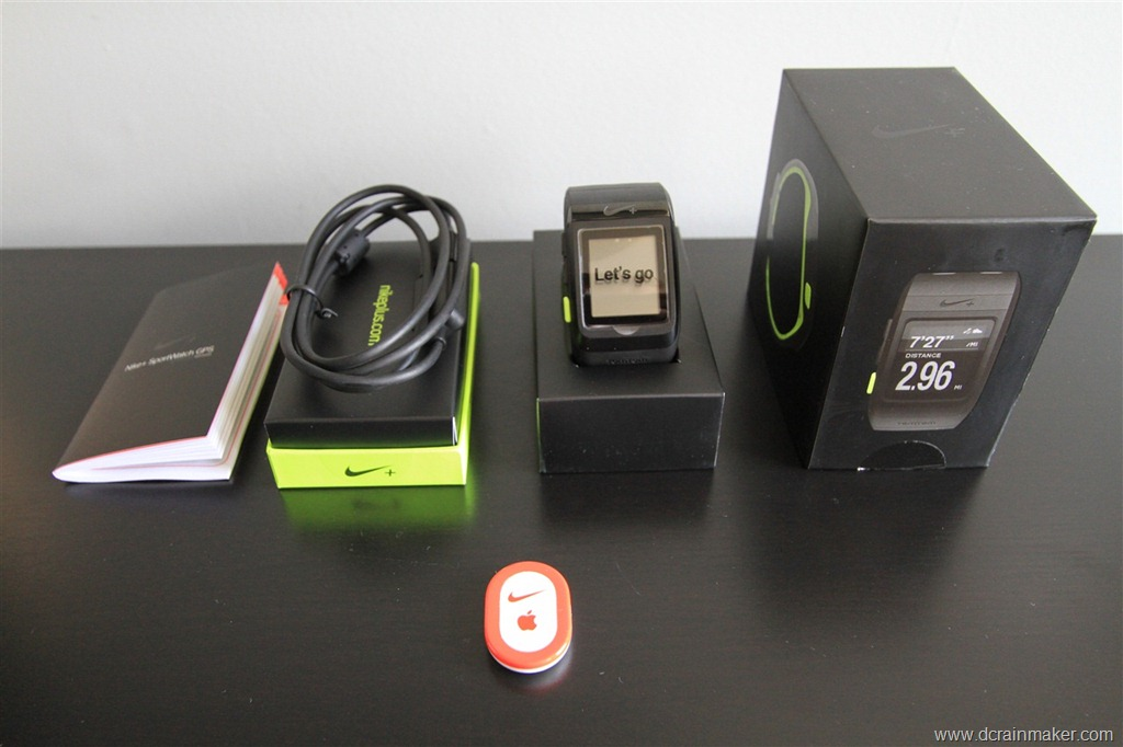 comienzo Confirmación Despertar  Nike+ Sportwatch GPS In Depth Review | DC Rainmaker