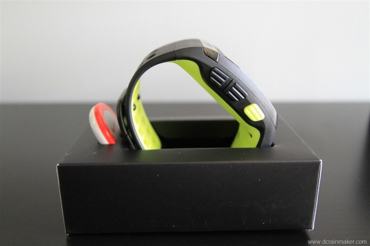 Nike+ GPS Sportwatch Side Profile