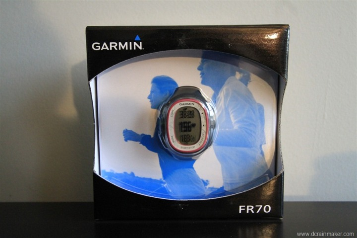 Garmin FR70 Packaging