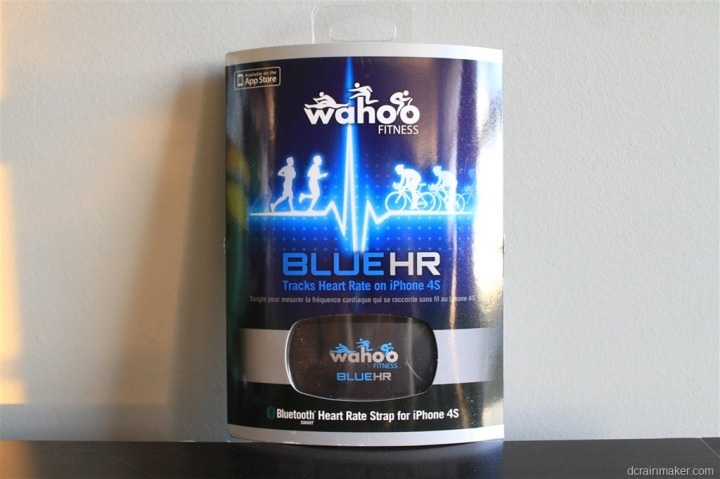 Wahoo Fitness Blue HR Boxed