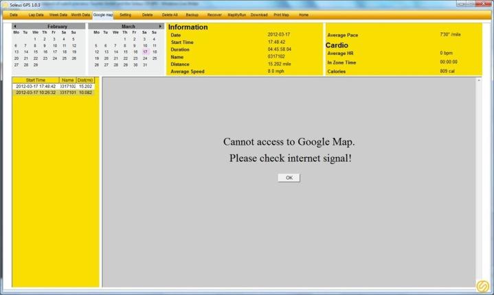 GoogleMapRunFail