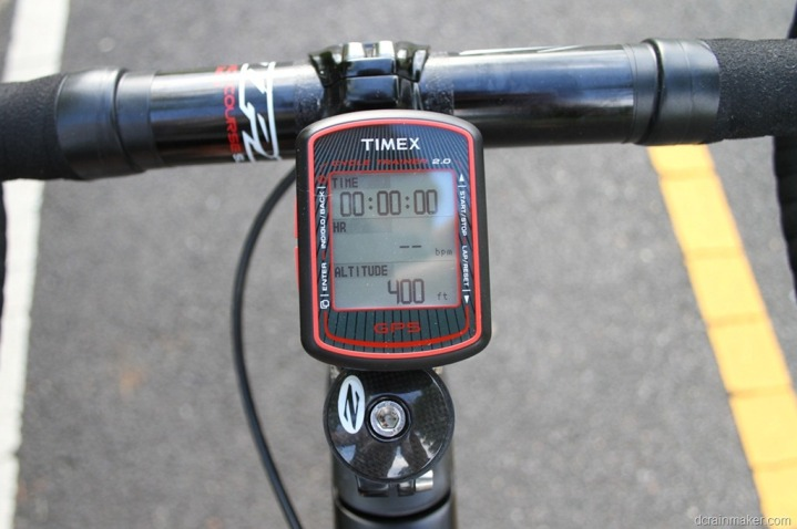 Timex Cycle Trainer 2 0 Gps In Depth Review Dc Rainmaker
