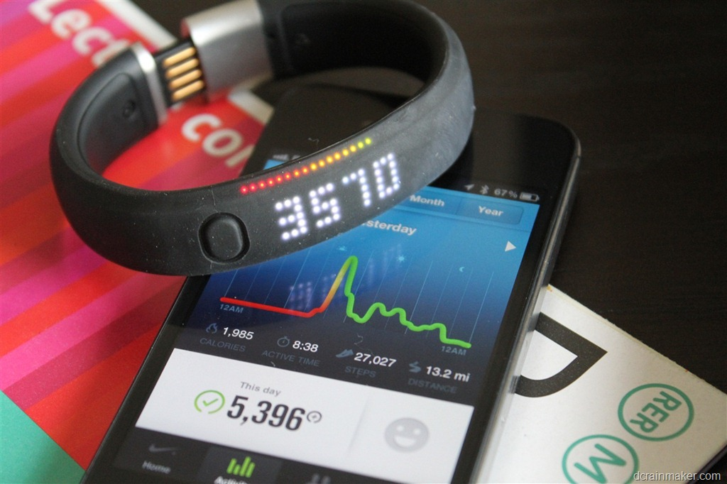 Laboratorio Compañero esposa  Nike+ FuelBand In-Depth Review | DC Rainmaker
