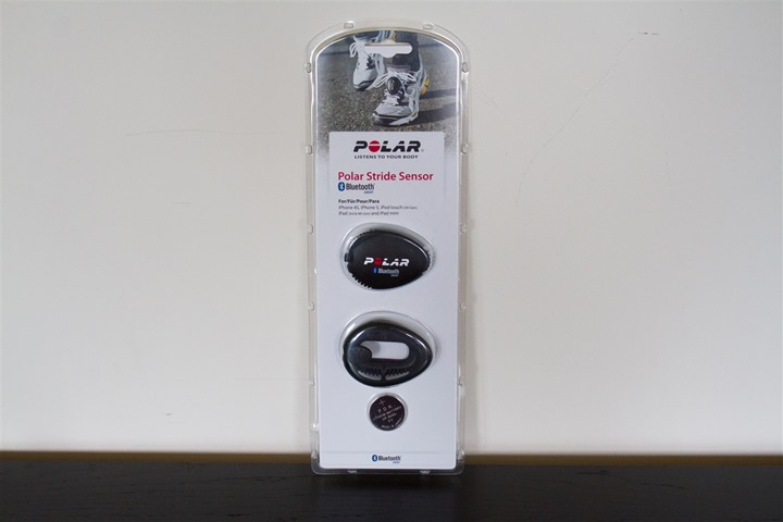 Polar Bluetooth Smart Footpod Boxed