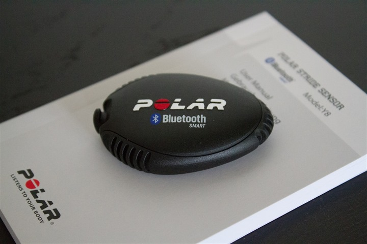 Polar Bluetooth Smart Footpod Unboxed Parts Pod