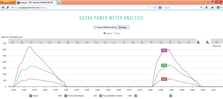 Analysis Software Screenshot B