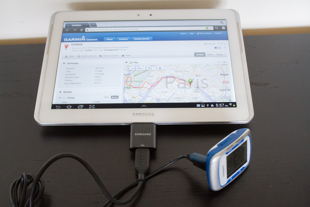 How to download garmin workouts to your tablet (android, ipad.