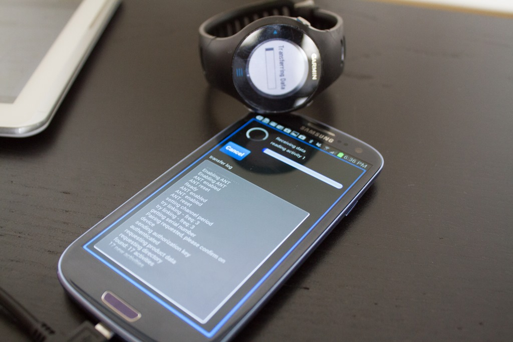 How to download Garmin workouts to your tablet (Android