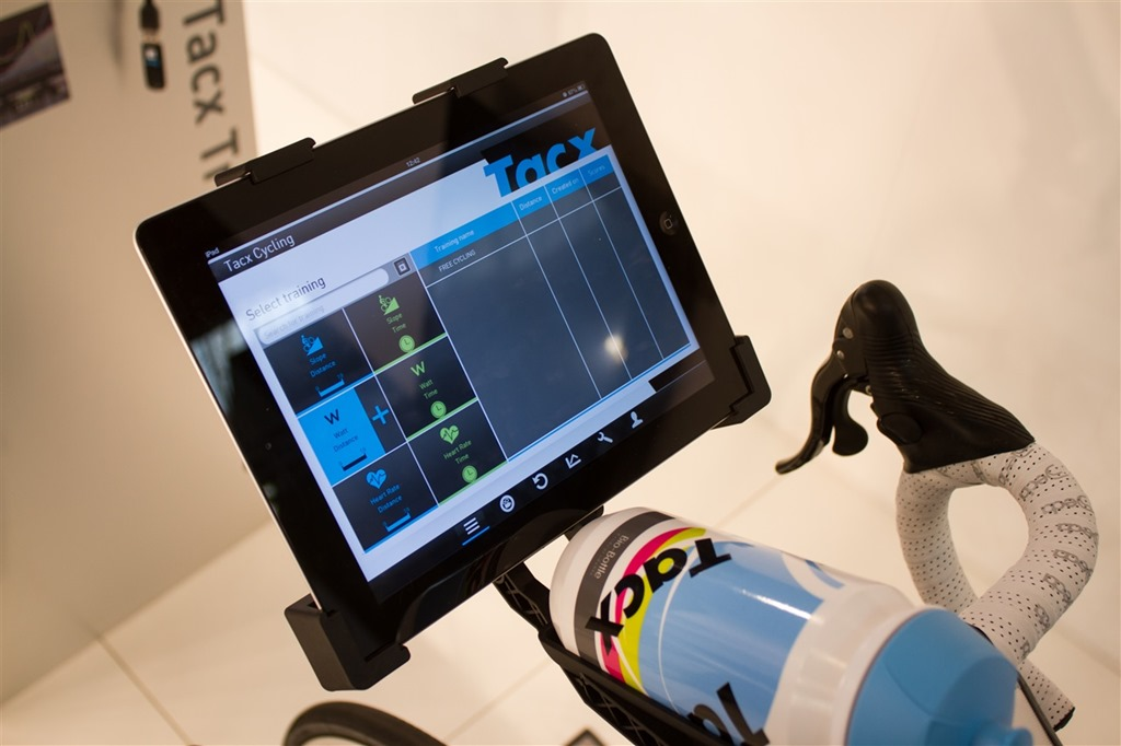 Hands on with the newly announced Tacx iPad app, ANT+ ... Race Bike Photos 2013