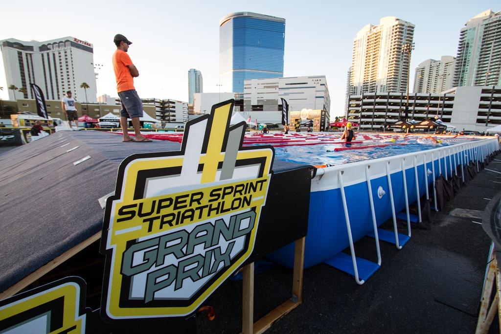 A night at the Las Vegas Super Sprint Triathlon Grand Prix