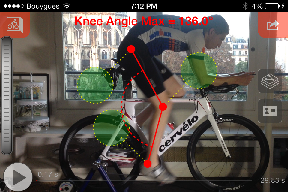 Automated Bike Fit Measurement App Review Bike Fast Fit