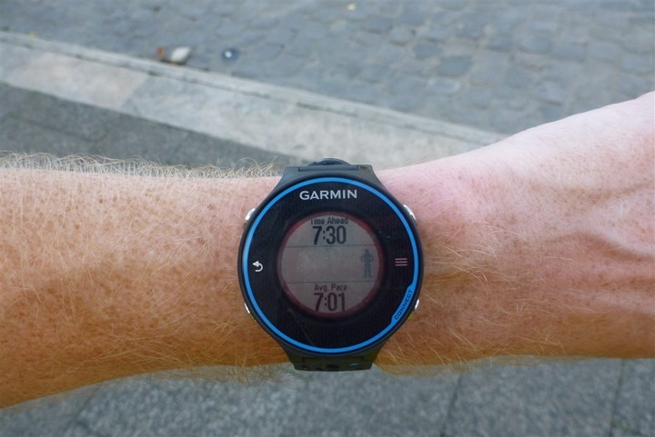 Garmin FR620 Virtual Partner