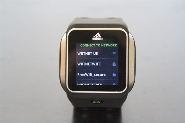 adidas watch gps