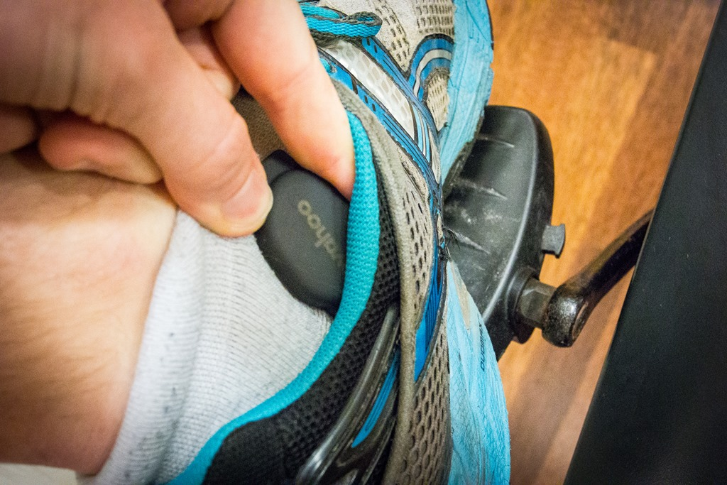 How to get and record cadence information on a spin or gym