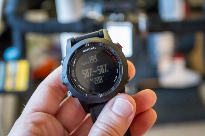 Garmin Fenix2 Cycling Power Meter Data