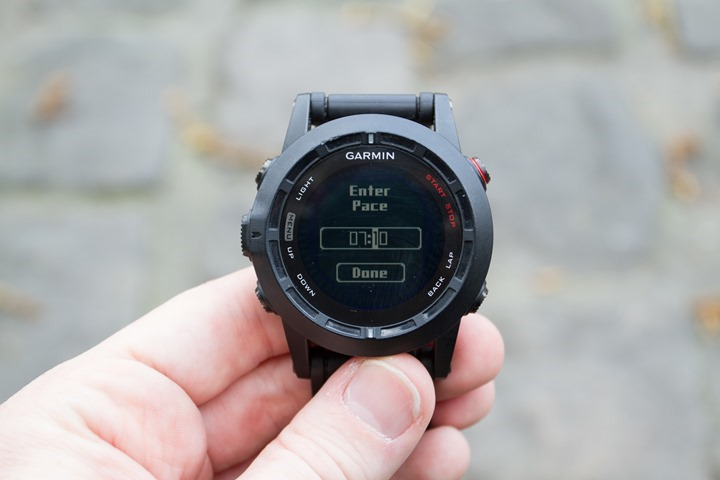 Garmin Fenix2 Virtual Partner