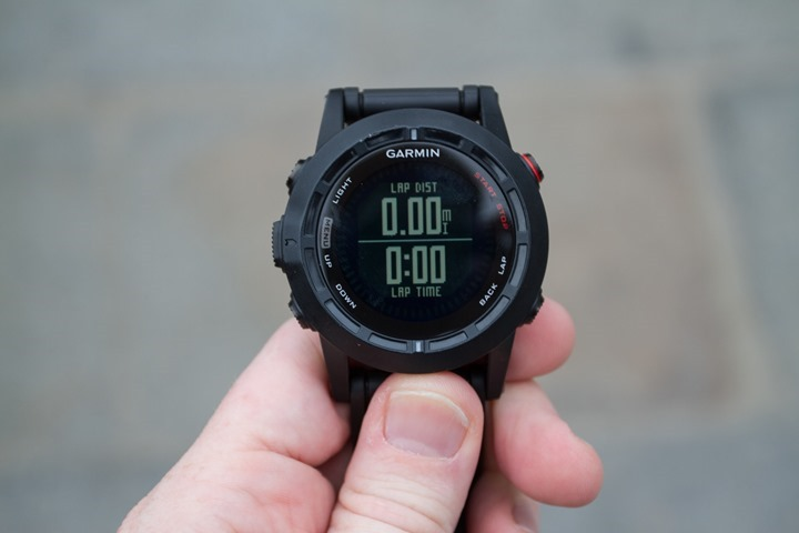 Garmin Fenix2 Data Pages - Two Fields