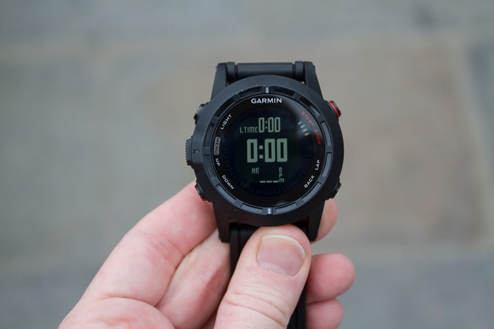 Garmin Fenix2 Data Pages - Three Fields