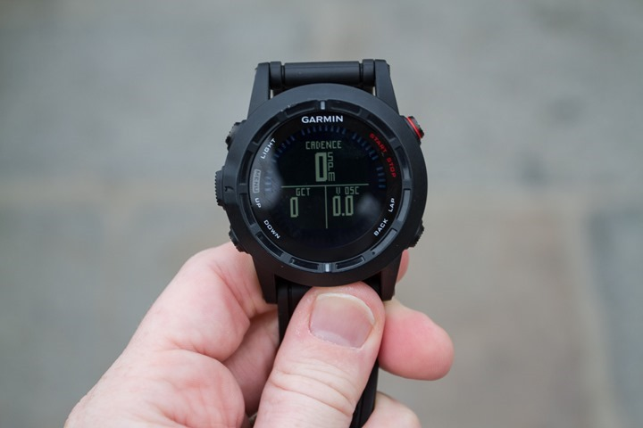 Garmin Fenix2 Running Dynamics