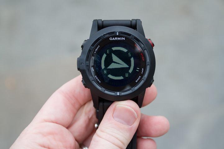 Garmin Fenix2 Compass