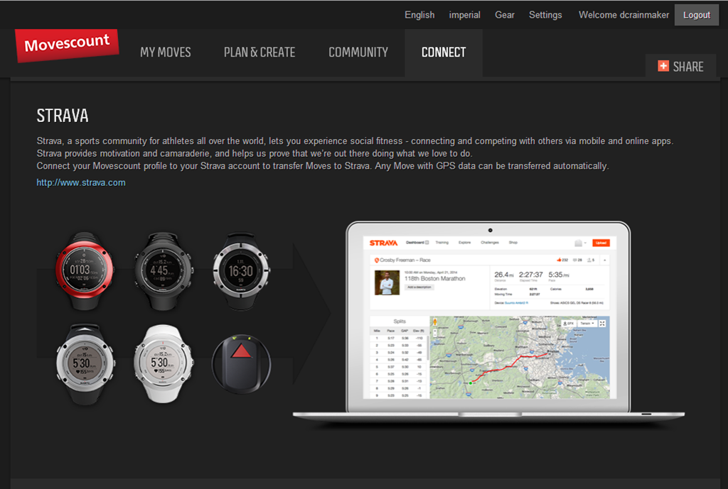 Suunto rolls out direct integration with Strava, a brief