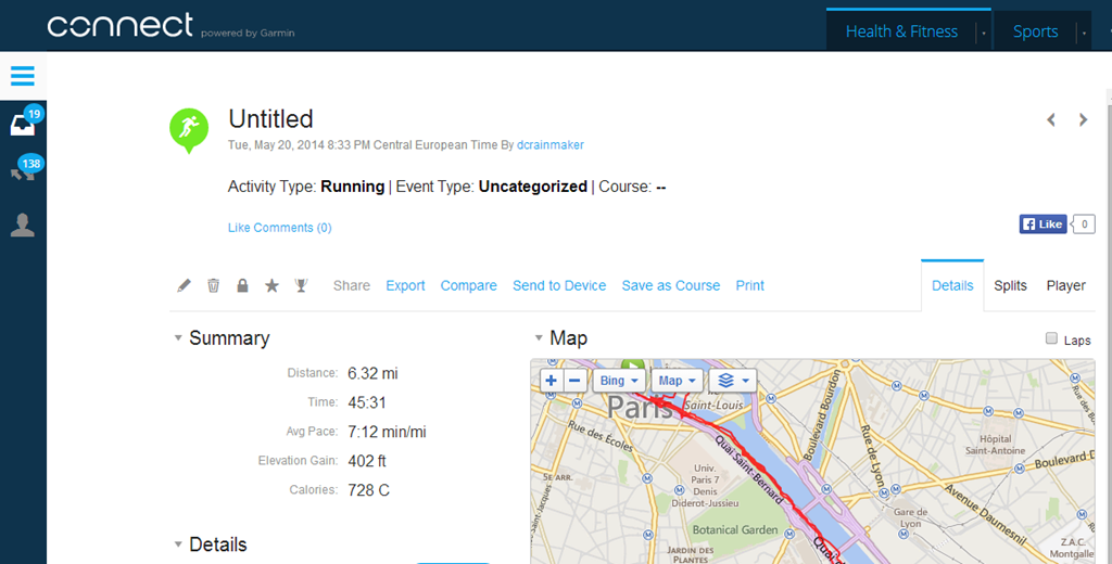 Training Peaks adds automatic sync with Garmin Connect   DC
