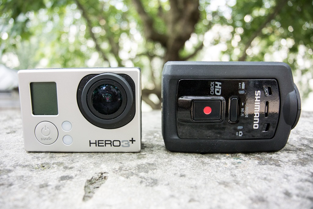 Hands on look at shimanos action camera the cm 1000 its just a itty bitty bit larger than the gopro hero3 but its certainly the smallest camera thats fully waterproofed which the gopro requires an fandeluxe Gallery