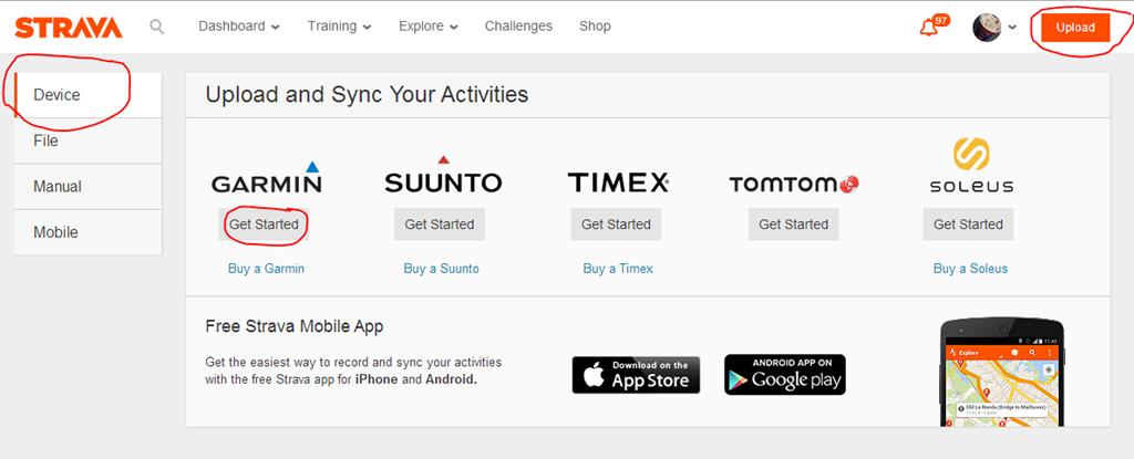 Garmin announces automatic sync with Strava, MapMyFitness
