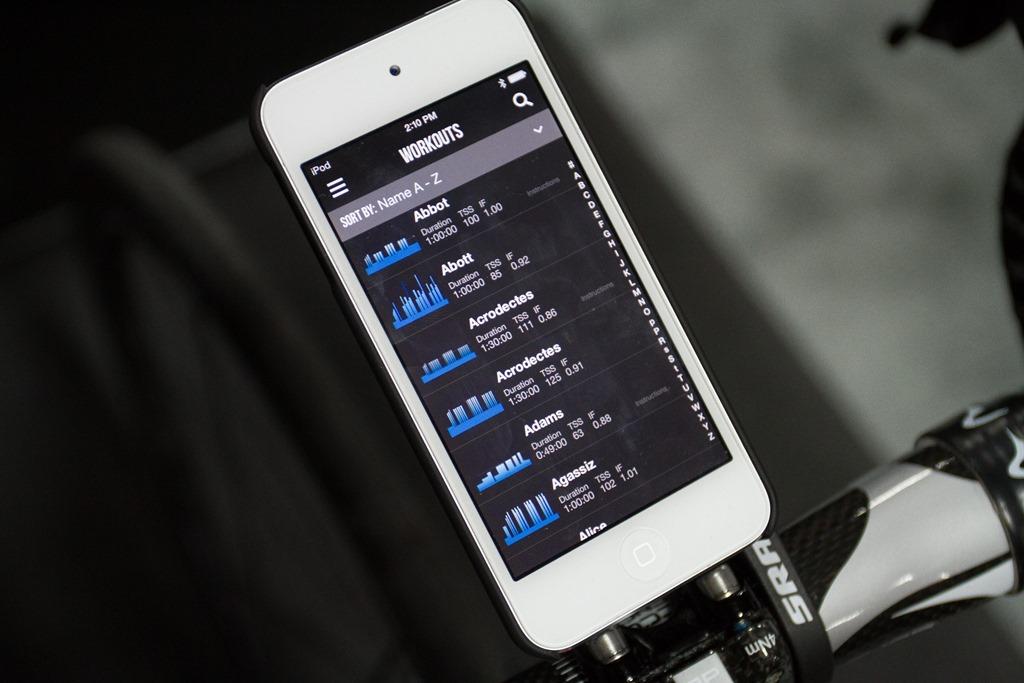 TrainerRoad shows off new iOS app | DC Rainmaker