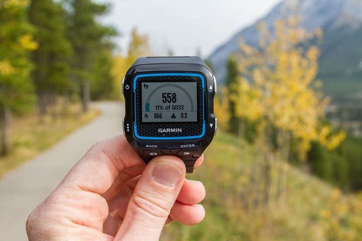 Garmin FR920XT - Activity Tracking Steps