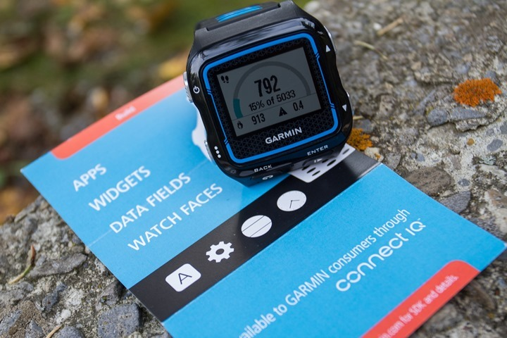 Garmin FR920XT - Connect IQ