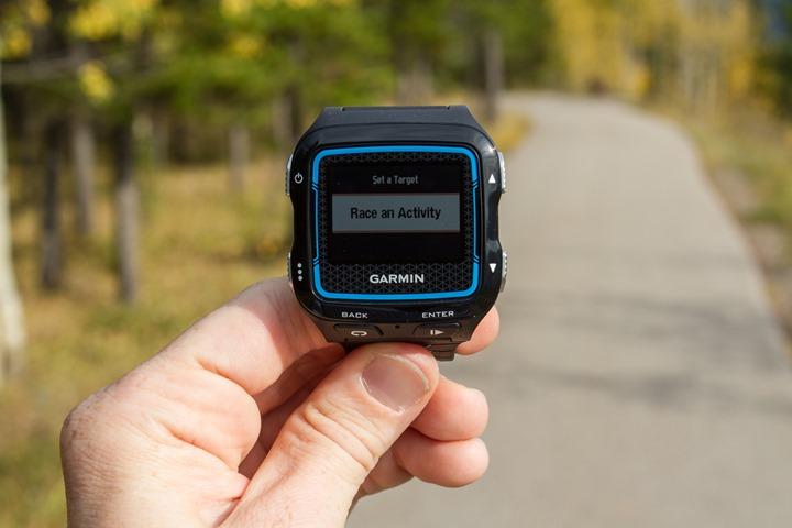 Garmin FR920XT - Virtual Racer