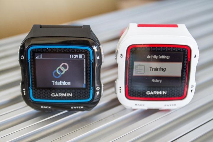 Garmin FR920XT - Tri training Mode