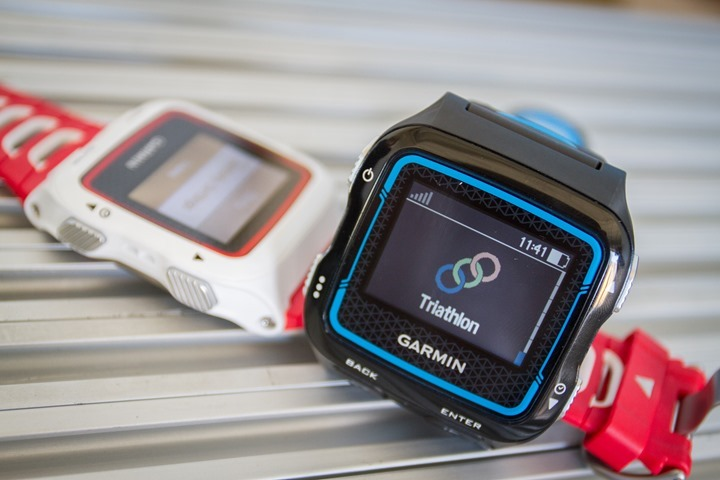 Garmin FR920XT - Two Versions