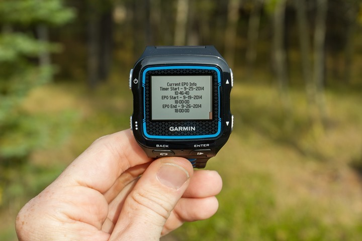 Garmin FR920XT - EPO Drugging