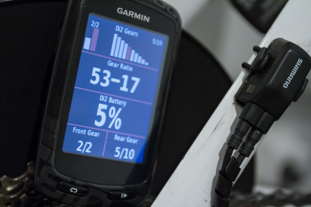 Huge Garmin Edge 510/810/1000 Update: Cycling Dynamics, Di2