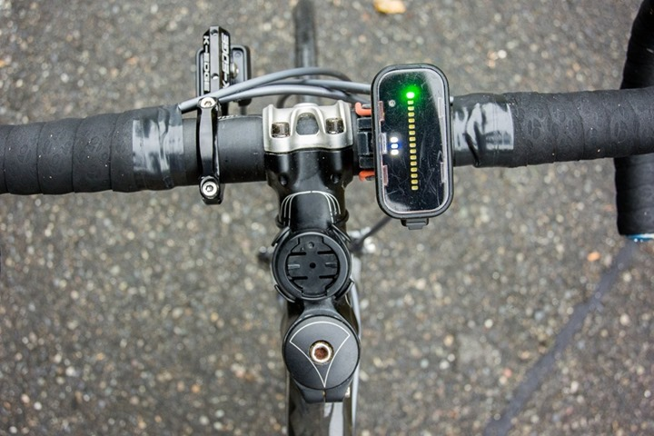 Garmin with Backtracker Front Light Pod