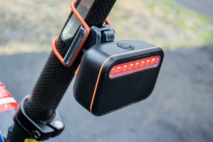 Garmin with Backtracker Rear Light Pod