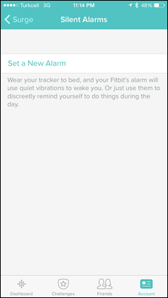 Fitbit-Surge-Silent-AlarmSetup