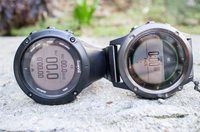 Left to right: Suunto Ambit3, Fenix3 Sapphire
