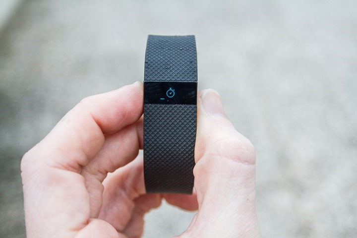 FitbitChargeHR-StartWorkout