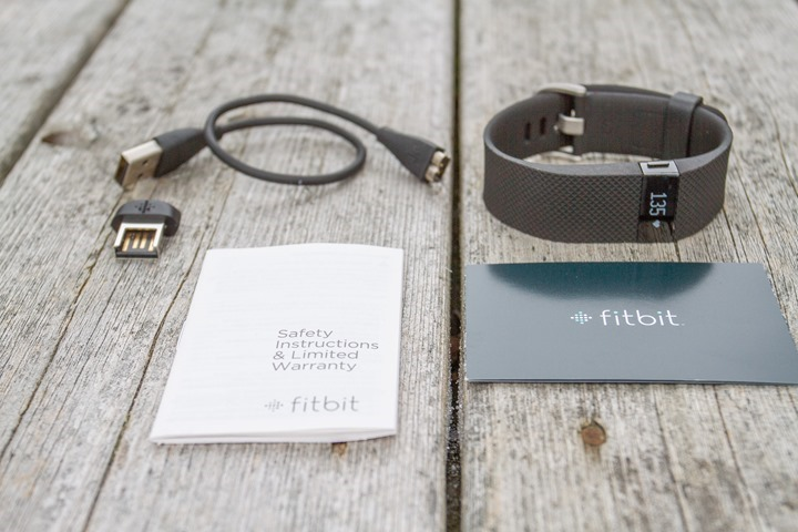FitbitChargeHR-UnboxAllParts
