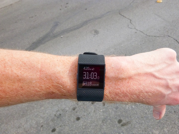 Fitbit-Surge-Running-Steps