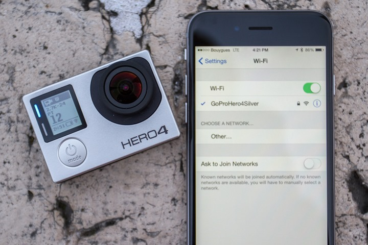 GoPro-Hero4-WiFi-Config
