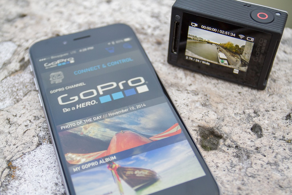 how to get your gopro wifi password